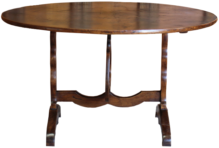 Large 19th century French Folding Vigneron Table