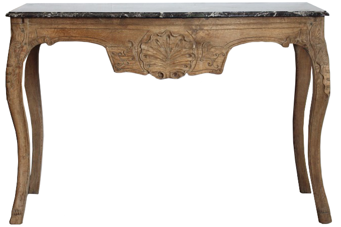 Mid 19th Century French Chestnut Console Table