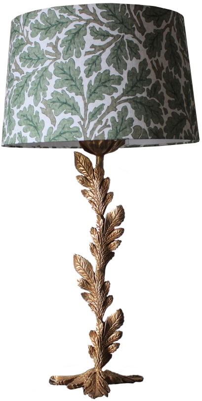 Mid 20th Century French Table Lamp in Gilded Bronze