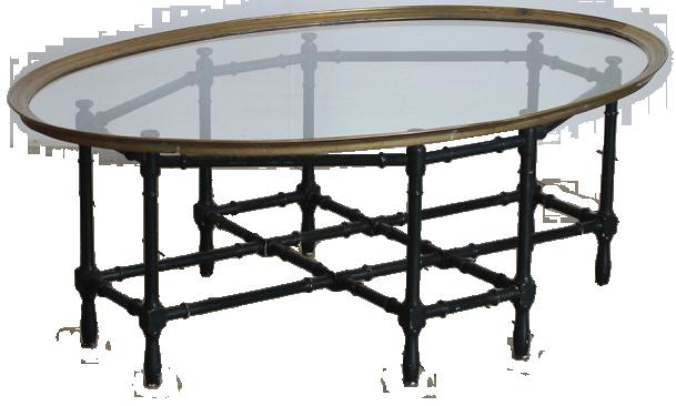 Mid 20th century Italian Oval Coffee Table