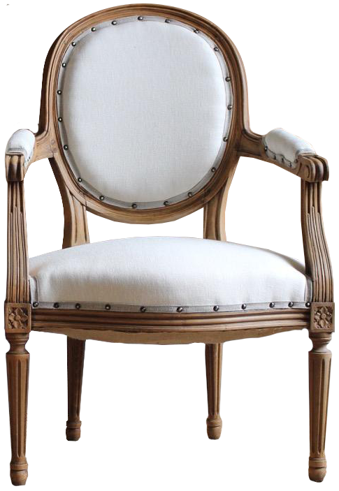 Pair of 18th Century French  Louis XVI Fauteuils