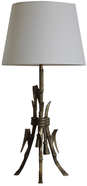 Pair of 1930s French Table Lamps