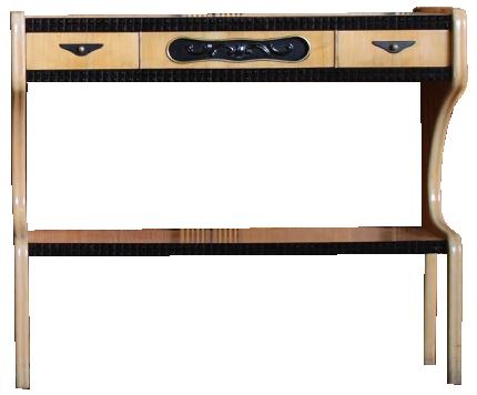 Stylish Pair of Mid 20th Century Italian Console Tables