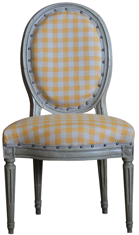 18th Century French Painted Louis XVI Fauteuil