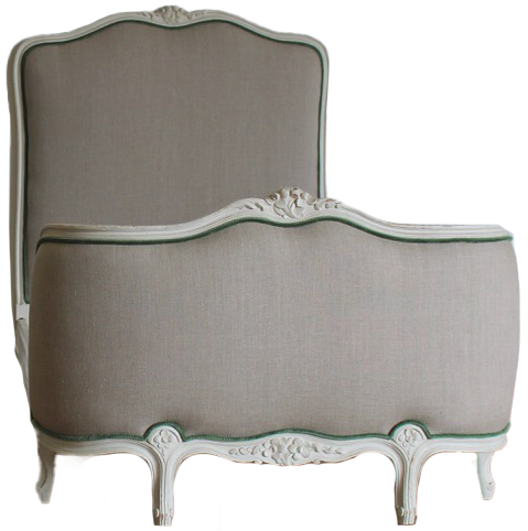Pair of 1920s /30s  French  Painted Single Beds in the Louis XVI Taste