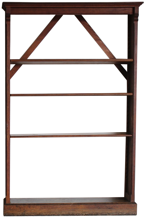 Pair of 19th Century English Bookcases from Ampleforth Estate